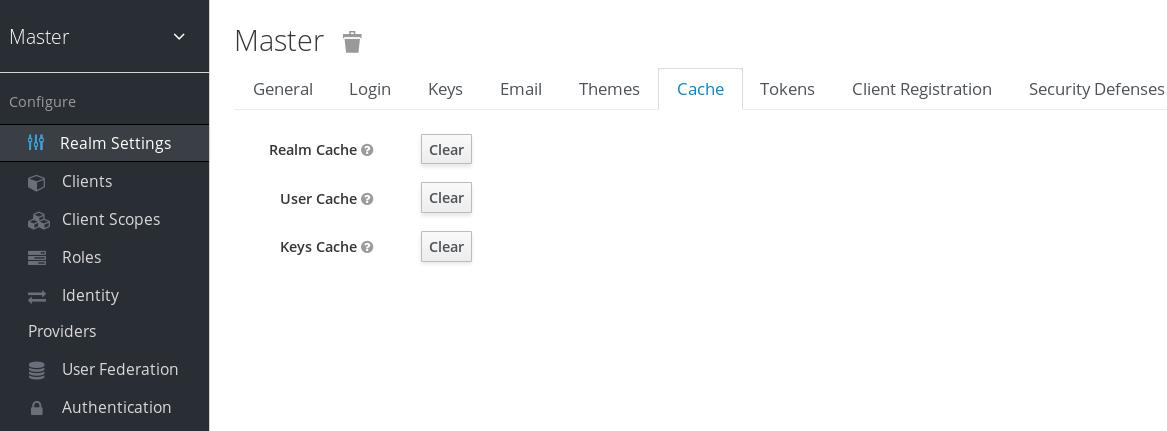 cache tab