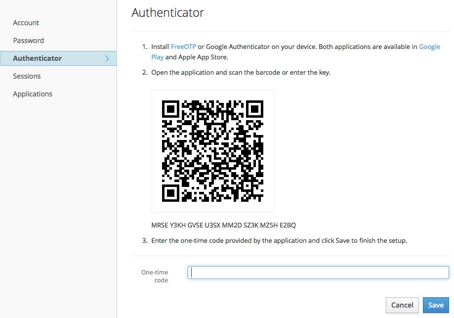 account service authenticator