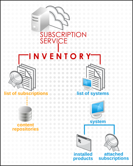 The Structure of the Subscription Service