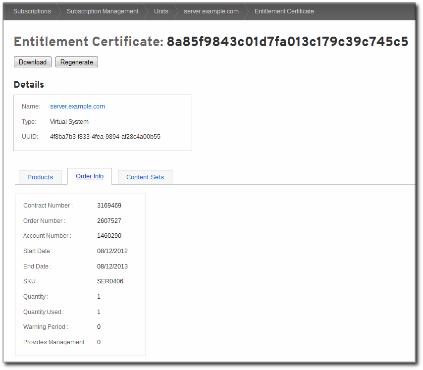 2.2. Portal: Status and Utilization - Red Hat Customer Porta