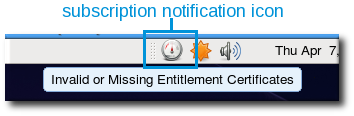 Subscription Notification Icon