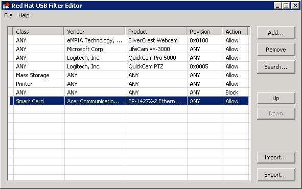 选择 USB 策略