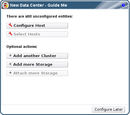 New Data Center Guide Me Window