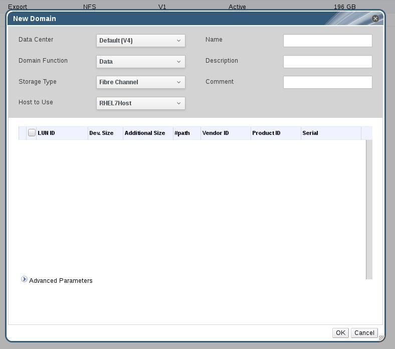 Adding FCP Storage