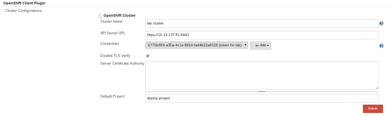 Build and Deployment of Java Applications on OpenShift Container