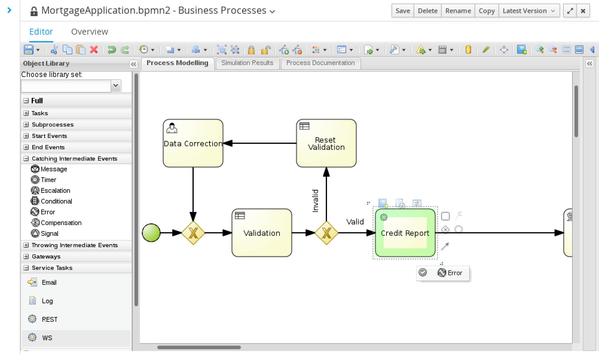 Business Process Management With Red Hat Jboss Bpm Suite 63 Eg Under Dash Fuse Box Web Service Error Placement