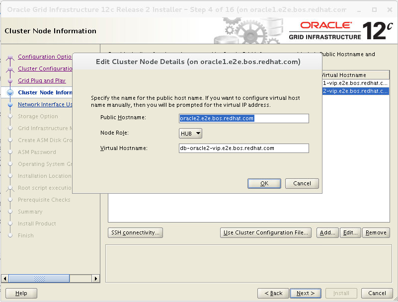 Deploying Oracle RAC Database 12c Release 2 on Red Hat