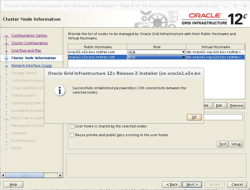 Deploying Oracle RAC Database 12c Release 2 on Red Hat Enterprise