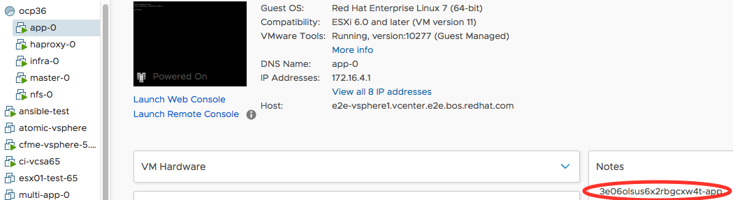 Deploying and Managing OpenShift Container Platform 3 6 on VMware