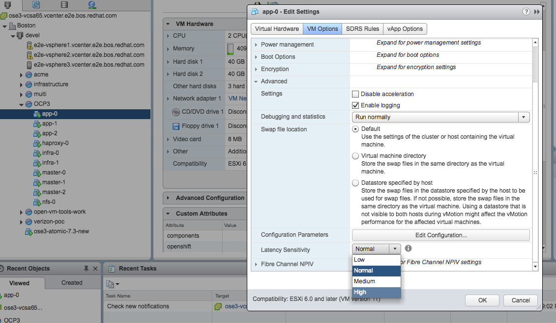Deploying and Managing OpenShift 3 9 on VMware vSphere