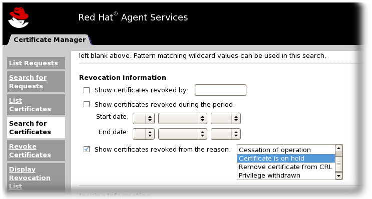 Administration Guide (Common Criteria Edition) - Red Hat Customer Portal